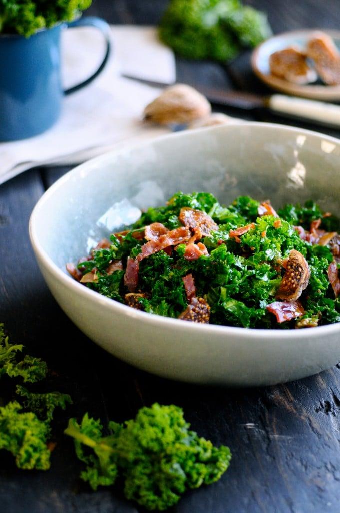 Salat med grønkål| www.juliekarla.dk