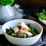 Salat med kylling | www.juliekarla.dk