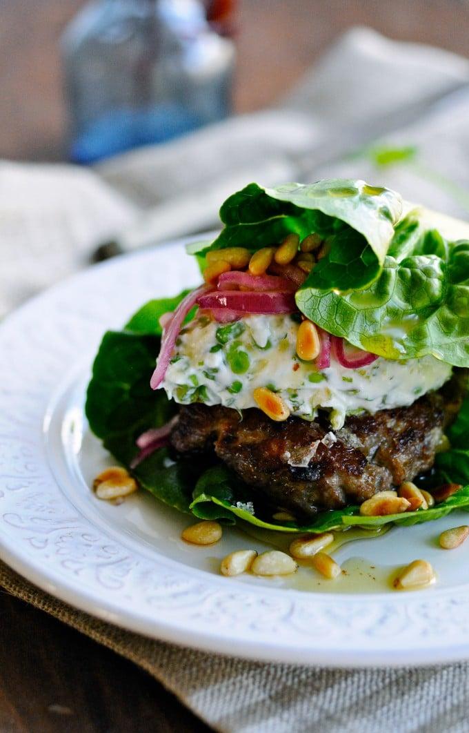 Sund burger opskrift | www.juliekarla.dk