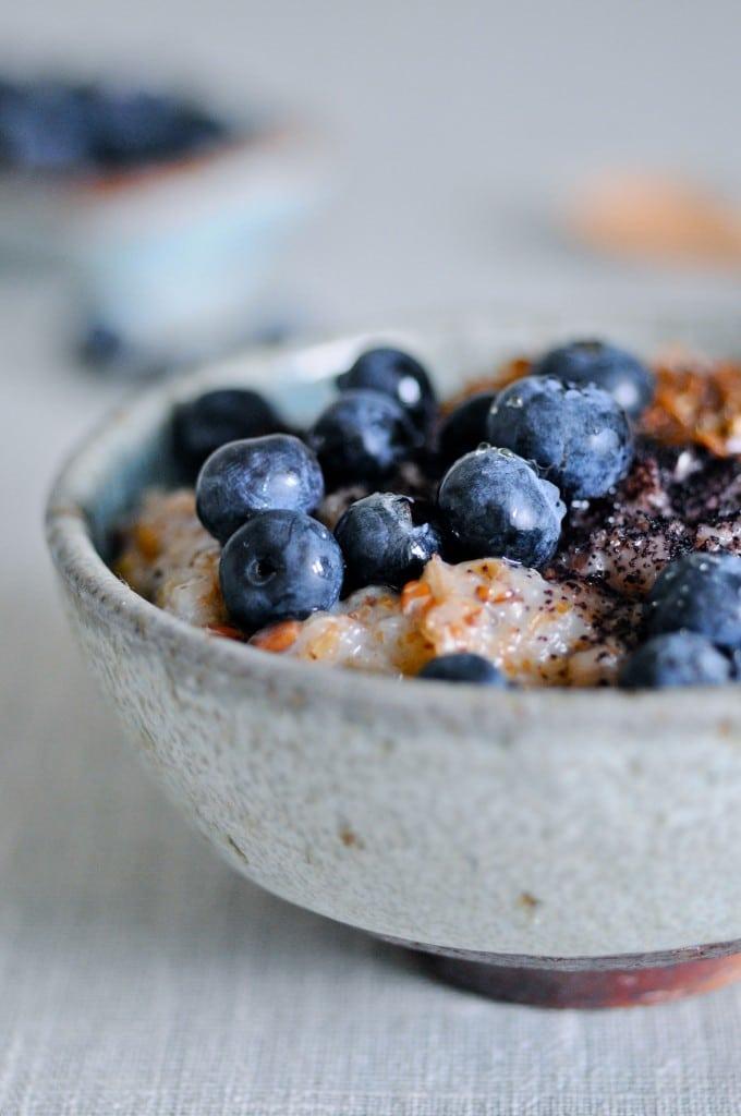 Sund grød til morgenmad