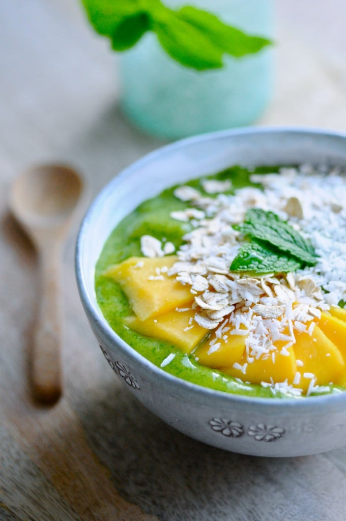 Grøn smoothie bowl | www.juliekarla.dk