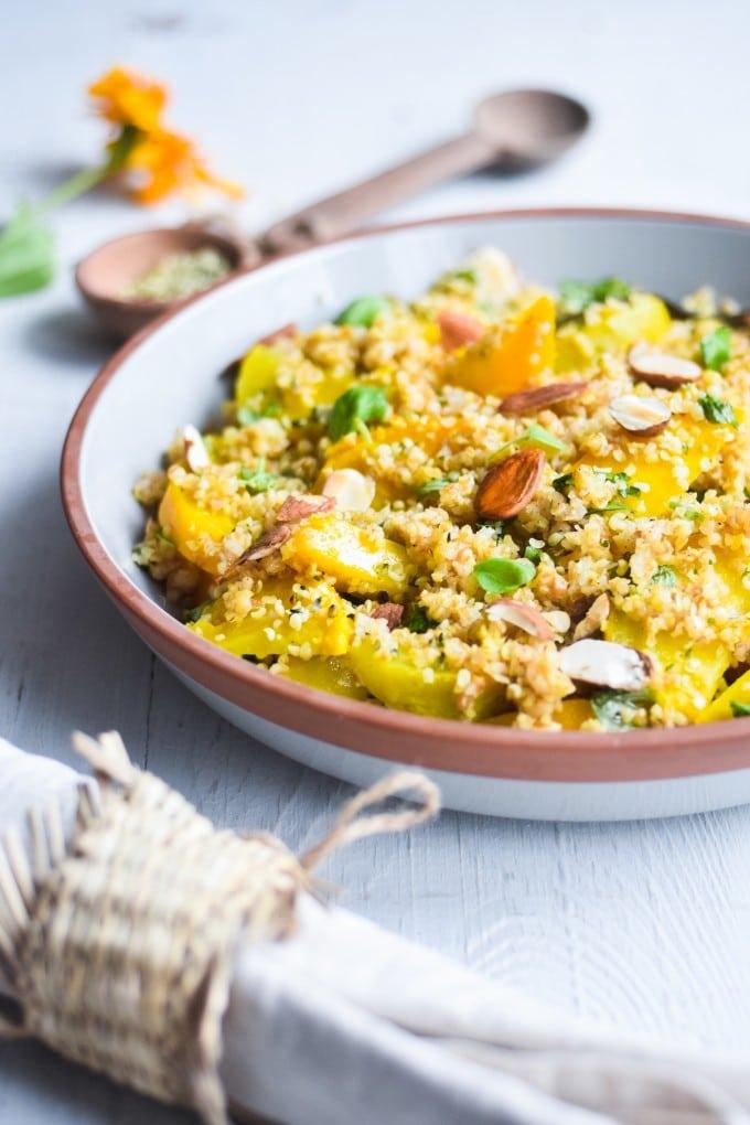 Lækker salat med gule beder