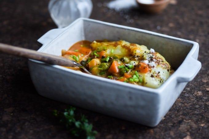 opskrift på laekker vegetar aftensmad