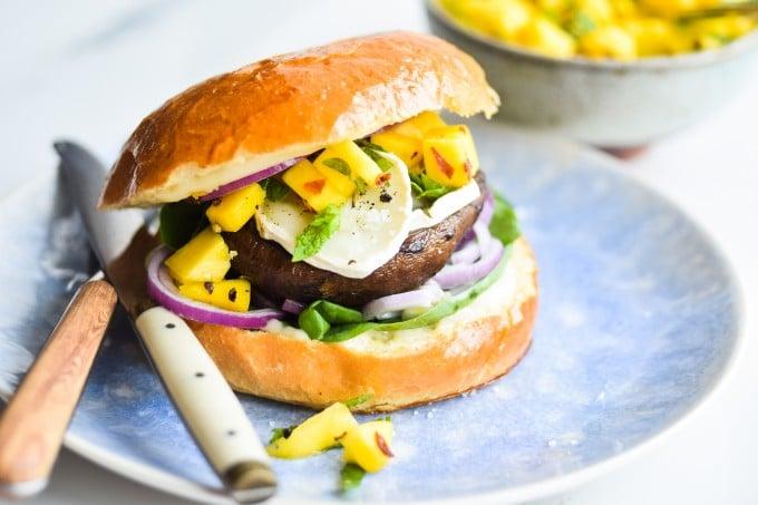 den bedste opskrift på vegetar burger