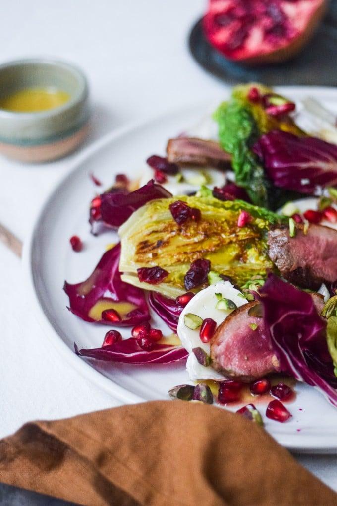 den bedste salat med and