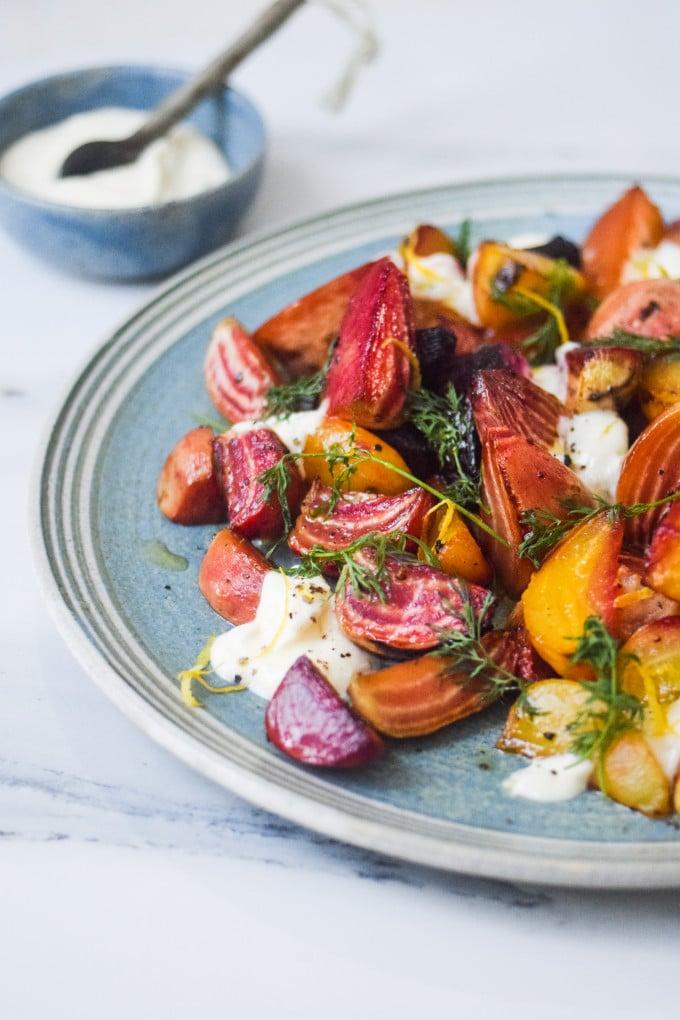 madblog opskrift på salat med stribede beder