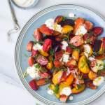 opskrift på salat med stribede beder