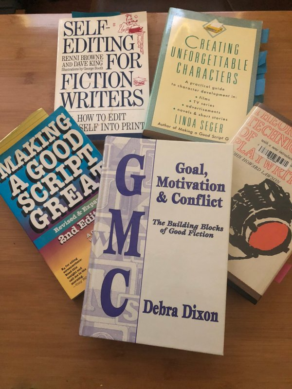 Crafty Inspiration - Selection of writing craft books