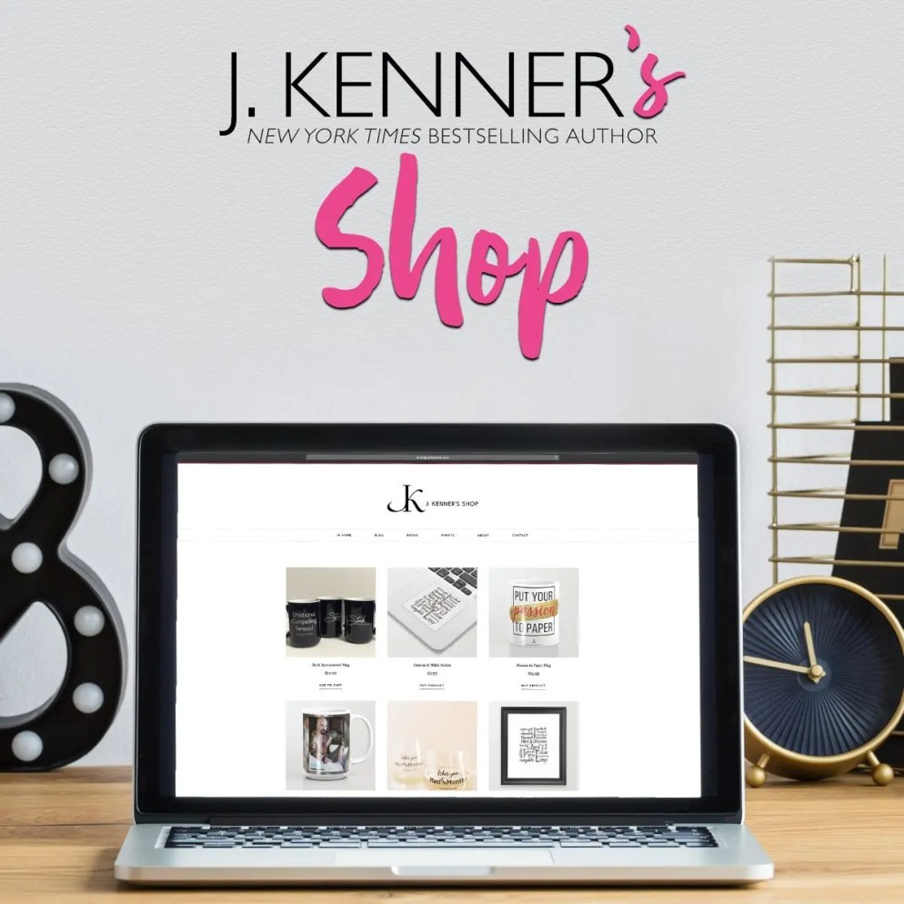 SHOP book swag ON J KENNER'S STORE!