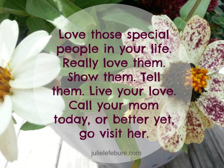 A Special Day Celebrating Mom