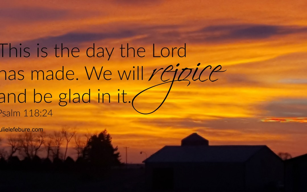 When Life Spins Too Fast Rejoice And Be Glad