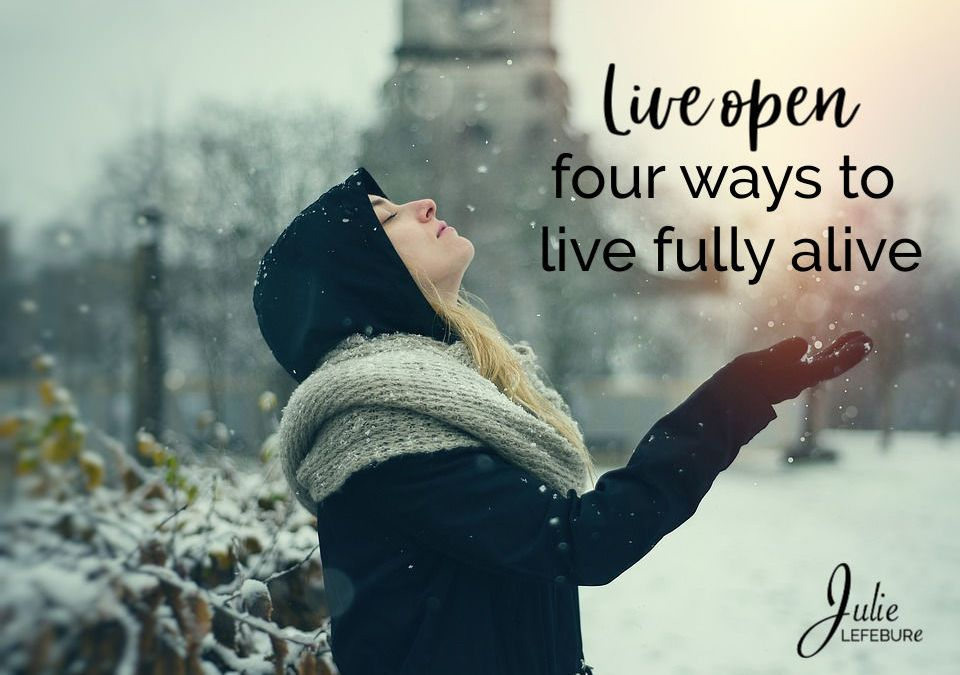 Live Open – 4 Ways To Live Fully Alive