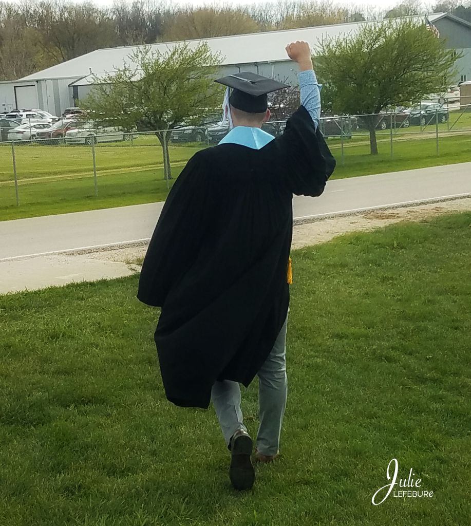 Zach graduates from UIU - Spring 2019