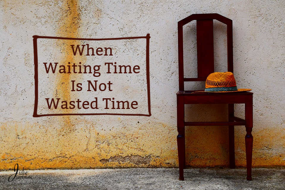 Trust in HIS timing Wait for HIS answers Relax in HIS