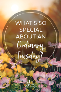 What's So Special About An Ordinary Tuesday?