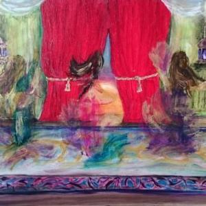 Venus in Furs | Oil on Canvas by Julie Lovelock