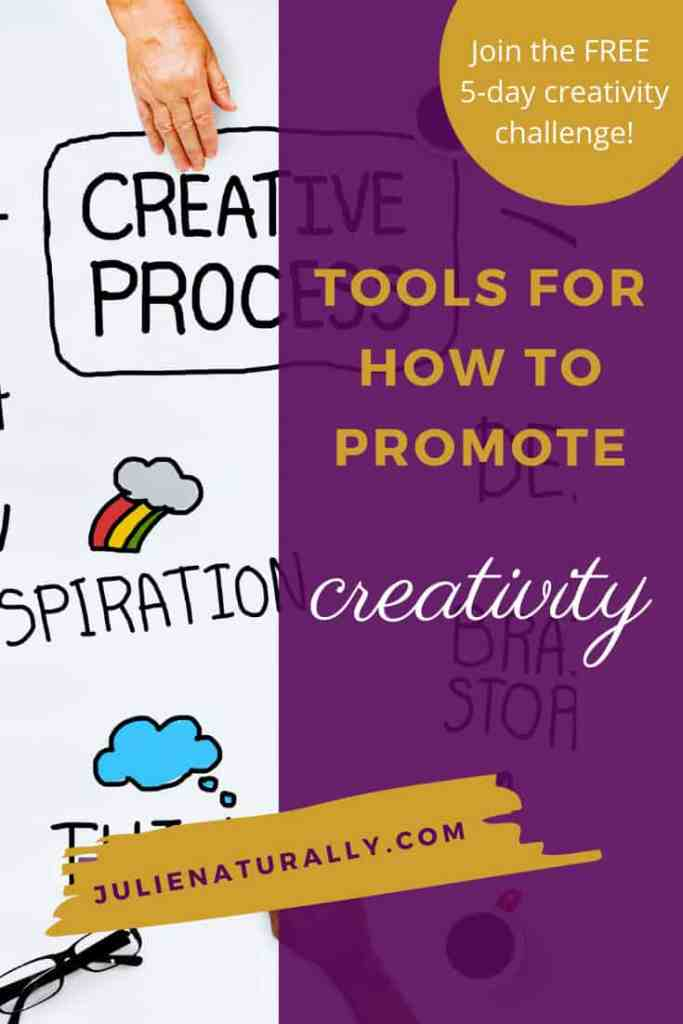 diagram flow chart of how to promote creativity