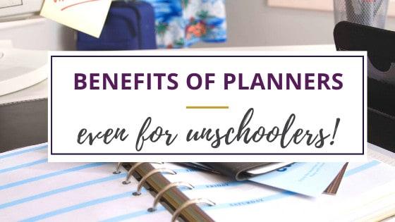an open daily planner