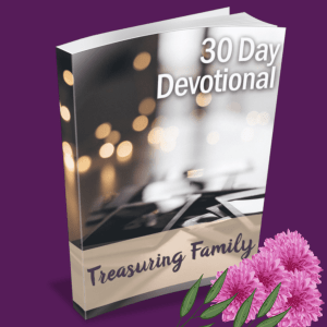 treasuring family devotional