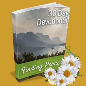 finding peace devotional