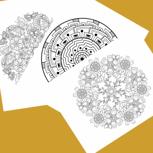 mandala adult coloring book with bible verses about light of christ