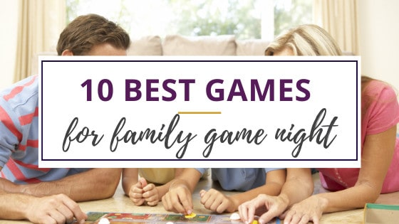 family game night with board games