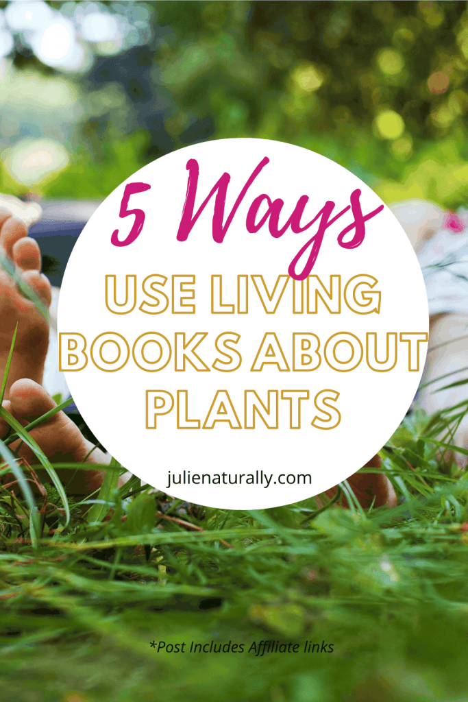 kids lying in the grass enjoying living books about plants outdoors
