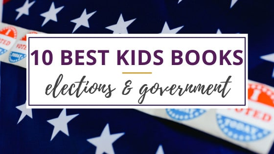 kids books about the election that have i voted stickers