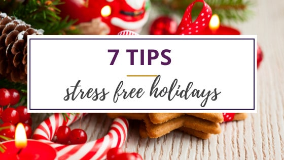 holiday candy and cookies that don't help stress free holidays