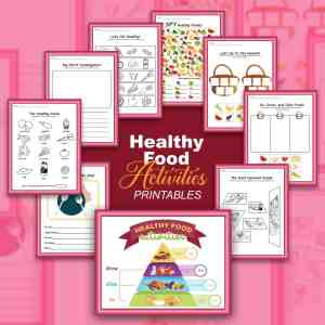 Nutrition Printable Activities