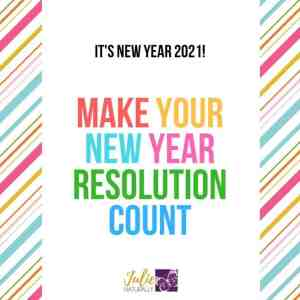 Make the New Year Count! 2021 Resolution Planner