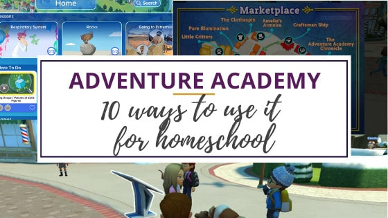 screenshots from adventure academy review