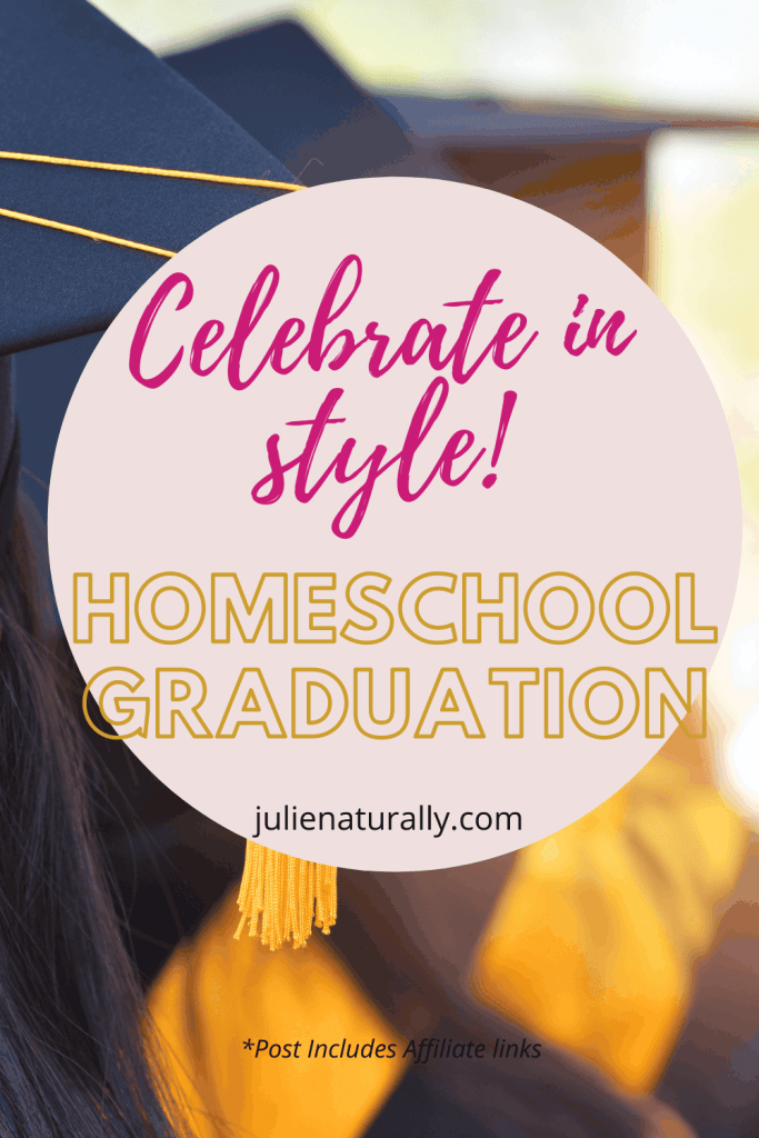 cap and gown for homeschool graduation ideas