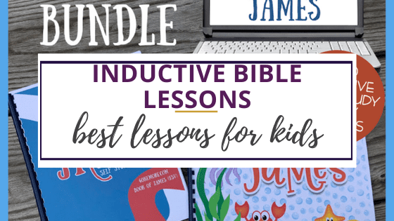 inductive bible lessons for kids with big fishes james bible study books