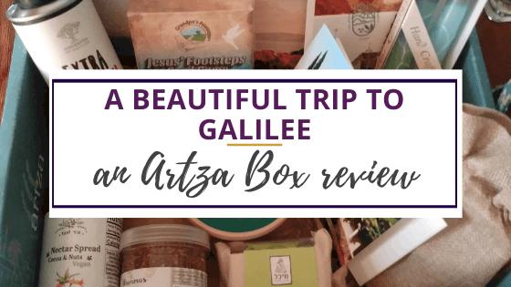 an artzabox review of the galilee box
