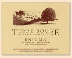 Domaine de la Terre Rouge Enigma 2006