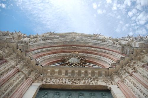 Portail du Duomo de Siena