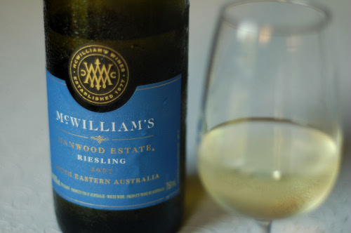 McWilliam's Harwood Estate Riesling 2007