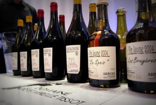 Les vins de Stéphane Tissot