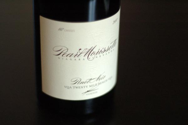 Pearl-Morissette Pinot 2007