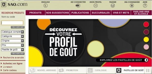 Site SAQ Actuel