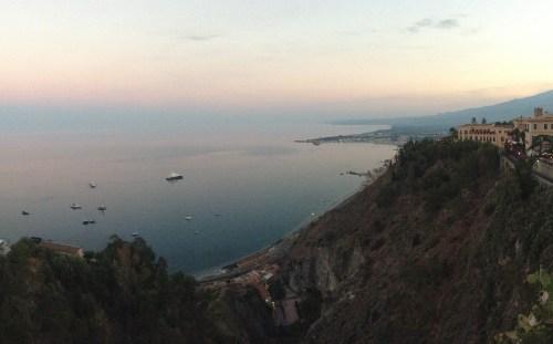 Etna, depuis Taormina