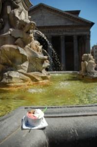 Gelato au Panthéon