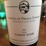 Gamay Noir Select 2011