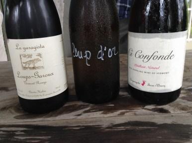 Loup-Garoux, Loup d'Or et Ci Confonde rosé