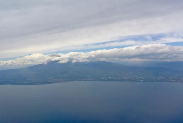 L'Etna, en approche vers Catania