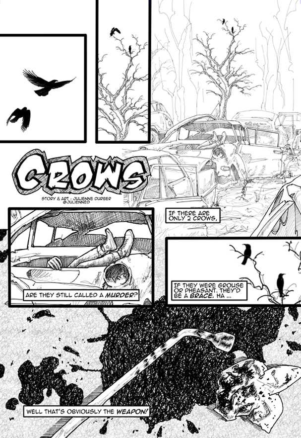 Crows Page 1