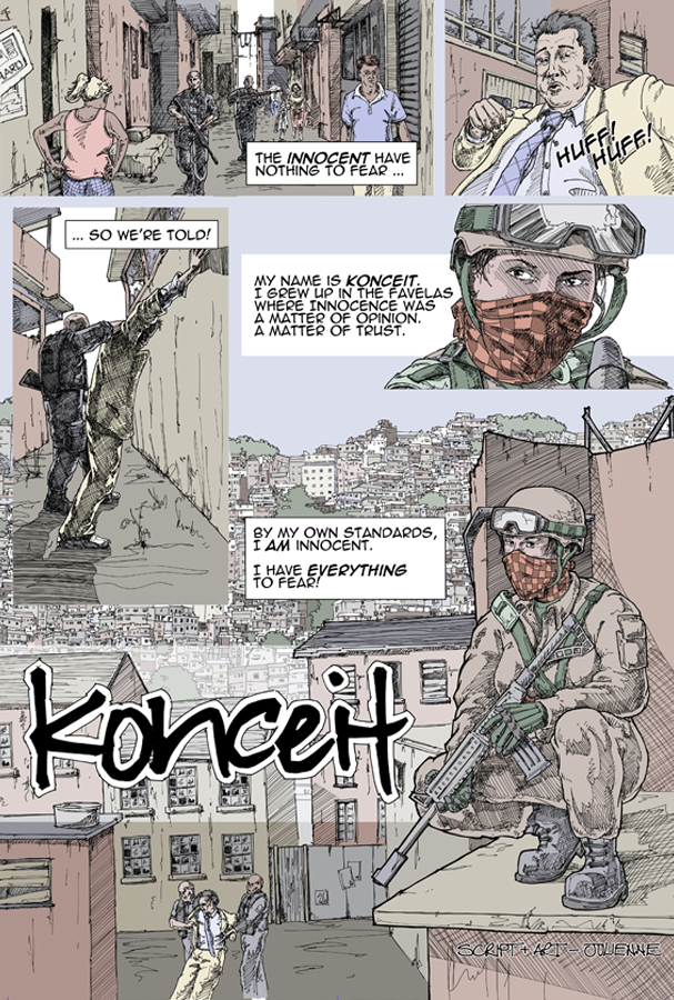 Konceit Page 1