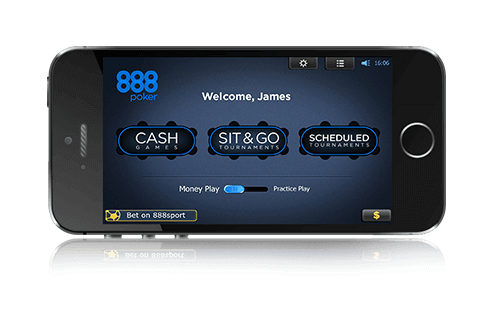 application mobile 888poker