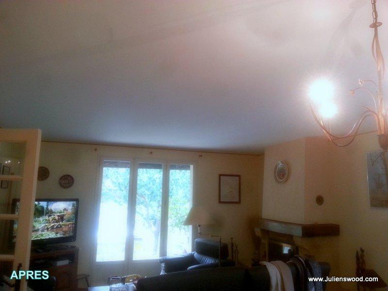 fissure plafond platre fabulous plafond placo suspente. Black Bedroom Furniture Sets. Home Design Ideas